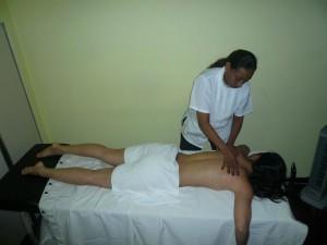 Soledad con Paciente Masaje Energetico