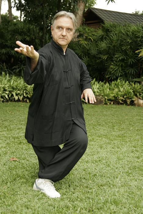 Postura de Chi Kung de Taichi